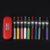 COLORS Dome Portable Vaporizer Portable Wax Vape Pen glass globe Waxy Oils e cigarette Compact ego t Battery electronic cigarette vs ego ce4