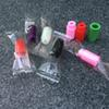 Individually wrapped Plastic drip tips Disposable Colorful Silicon testing caps rubber short ego Test Tips Tester Cap drip tips For ecig