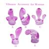 5Pcs  Pack Vibrator Sex Toys For Women AV Rod Accessories Is Massager Head Caps,Magic Wand Attachments