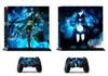 Black Rock 213 Vinly Skin Sticker Protector for Sony PS4 PlayStation 4 and 2 controller skins Stickers