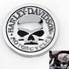 2016 Hot Sale HARLEY DAVIDSON MOTORCYCLES Skull Bone Car Motorcycle Auto Chrome Silver 3D Metal Emblem Badge Decal Sticker