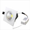 cree led light square Recessed led downlights Dimmable Downlight COB 7W 9W 12W 15W Led ceiling light decoration AC85-265V