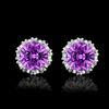 화이트 + 퍼플 다이아몬드
