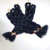 navy blue color kanekalon jumbo braiding hair high temperature synthetic jumbo braiding hair 24inch free shipping