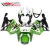 White Green Fairings For Kawasaki ZX7R 1996-2003 ABS Plastic Motorcycle Fairing Kit Cowlings Body Frames Bodywork