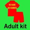 Erwachsene Kit Nein Name Keine Nummer