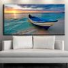 ZZ1231 modern decorative canvas art sailboat beach seascape scenery canvas pictures oil art painting for livingroom beroom wall