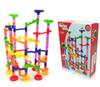 2016 new Home toy 105PCS DIY Construction Marble Race Run Maze Balls Track Building Blocks free shipping