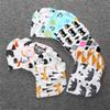 kids INS purified cotton hats children fashion cartoon caps INS fox beanies panda tiger hats printed Baby caps E548
