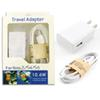 For Samsung Adaptive Wall Charger Real 2000 mAh with Micro USB Cable Home Travel Adapter US Kits 2 in 1 with Package For Galaxy S4 S5 S6 S7