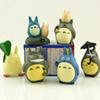 Totoro Miyazaki Hayao 10pcs set 4~6cm My Neighbor PVC Action Figure Model Toys Dolls for collection for gifts