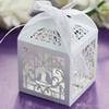 Wedding Party Favor Box Laser Cut Paper Candy Chocolate Boxes Love Bird Cages Decoration Wedding Boxes