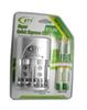 Cheaper BTY 1.2V AAA 4*1350mah Rechargeable Ni-MH Battery + BTY-802 AA  AAA Battery charger With Packing Case Free Shipping
