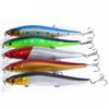 New free shipping 14cm plastic hard baits 5 colors multi-style lures baits bionic minnow bait for sale