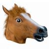 2016 Creepy Horse Mask Head Halloween Costume Theater Prop Novelty Latex Rubber 2 colors hot selling