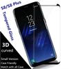 Case Friendly Scaled Down 3D Curved Film Tempered Glass For Samsung Galaxy S10 PLUS S10e S8 Plus NOTE8 note9 S9 PLUS Screen Protector