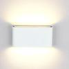 Ultra Thin Outdoor LED Wall Lights COB 6W Aluminum Surface Mounted Wall Lamp Waterproof Up and Down Wall Sconce Indoor Corridor Lamp
