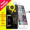 For Iphone 6s 6s plus Samsung Galaxy S7 S6 Tempered glass Screen Protetor Anti-fingerprint for Iphone 5 note5 LG G5 Paper Package ssc033