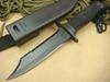 Knife for sale !! Bayonet bowie knife tactical Knives Fixed Blade Camping Hunting Survival Knife ABS HANDLE