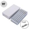 Disposable Tattoo Needles Premade Sterile 9F Flat 50pcs Tattoo Needles