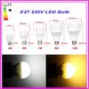For Home Illumination Super Bright 5630SMD Bulb Energy Saving 180 Degree AC220V E27 3W 5W 7W 9W 12W Lighting Bulb Lamp Light