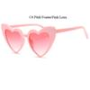 C4 rosa Rahmen rosa Linse