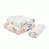 All Animal and Cartoon prints 120x120cm Single Layer miracle baby Bamboo Muslin Swaddle Infant Wrap Blankets free ship