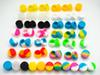 STOCK in Los Angeles USA FAST SHIPPING ! ! 500pcs lot 2ml non-stick silicone jars dab wax silicone container for dabs silicone containers