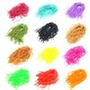 SAMSFX Fly Tying Material Worms Body Fly Flies Lures Baits Squirmy Wormy Making Fly Tying Material Ultra Stretchy
