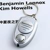 Mini Portable Key Clip Keychain Electronic Ultrasonic Pest Mosquito Insect Repeller for pest Insect