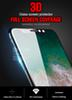 9H Full Protector Tempered Glass For iphone X 8 Plus Full Screen Protective Film For iphone 6s 7 Plus Soft Edge Glass film Cover