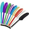 Wholesale -The Cheapest Colorful Legend Feather Stylus Pen Screen Touch Pen For IPad4 5 6 IPhone7 7Plus 6 6s 5 1000Pcs Lot Free Shipping