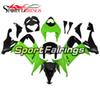 Fairings For Kawasaki ZX10R 08 09 10 Gloss Green Matte Black Injection ABS Plastic Motorcycle Bodywork Cowlings Body Fittings