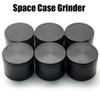 Space Case Grinders 55 63mm Herb Grinder 2 4 Pieces Tobacco Grinders With Triangle Scraper Aluminium Alloy Material Herb Spice Crusher DHL
