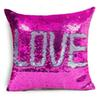 Single Side Sequin Mermaid Cushion Cover Pillow Magical Color Changing Glitter Throw Pillow Case Home Decorative Pillowcase