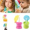Wholesale- Portable Baby Children Drink Cap Feeding 360 Degree Spill pProof Cover Feeding Drinking Tool Candy Color