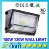 Oversea warehouse CREE 60W 80W 100W 120W led wall pack Outdoor Wall Mounted light meanwell driver DLC ETL Listed 90-277V led lightig 888