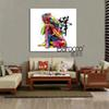 Modern abstract colorful buddha figures oil painting HD printed paintings on canvas wall art picture home decoration gift