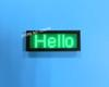 USB Rechargeable  Edit By PC  Message Advertising Green LED Name Scrolling Sign Text Panels Badge LED business card