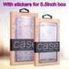 Com adesivos para caixa de 5.5inch
