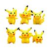 6 pcs set Pokeball Pikachu Figures Toys For Kid New Japanese Games Figures Doll Set #E