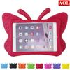 3D Butterfly Kids' Case for Apple iPad 2 3 4 mini 1 2 3 EVA Shock Proof Stand Cover with Handle Kids Friendly