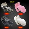 The 100% Biosourced Resin Male Small Chastity Device CD077