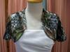 Wedding Bolero-top-jacket Bridal Satin Jacket CAMO Wedding Wraps