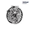 Wholesale 12pcs Lot Fly fishing reel 9 11 110mm fly reel 3BB CNC machined full aluminium fly ice fishing reel fishing tackle