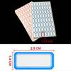 Convenient Red Blue Color 65pcs lot Price Sticker Adhesive Paper Self-adhesive Label Price Tag Price Label Sticky