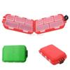 Cute Fishing Lures Tackle Storage Box Case For Hooks Baits 12 Compartments Lemonstore F00179 BARD