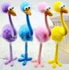 2016 New Arrival Gel Pens Ostrich Design Roller Ball Pens Creative Stationery Non-sucker Special Fancy Stand-up