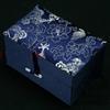 9x6x5.5 cm azul escuro