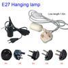 E27 com cabo de plugue dos EUA